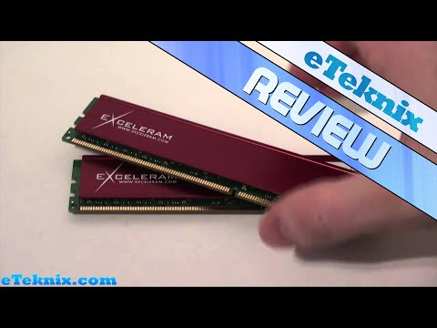 exceleram - Full Review - http://www.eteknix.com/memory/exceleram-ddr3-pc3-12800-1600mhz-4gb-memory-review-499/ Website - http://www.eteknix.com Like us on Facebook - ht...
