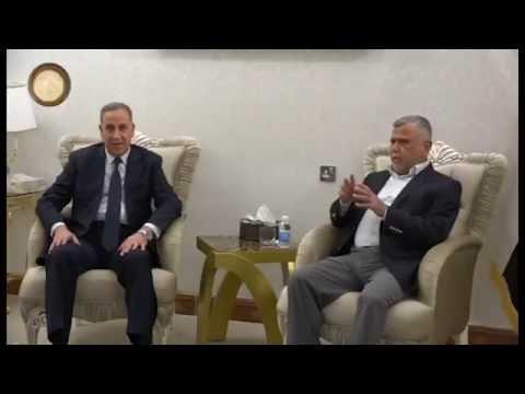 خالد العبيدي يلتقي هادي العامري