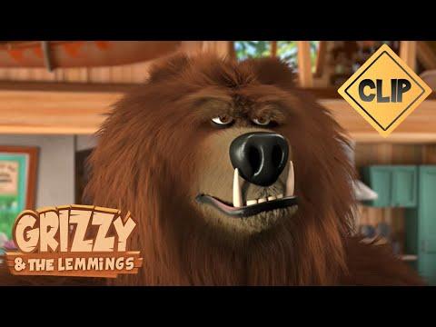 Le nouveau garde du corps de Grizzy !- Grizzy & les Lemmings