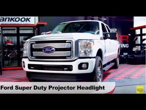 Ford super duty headlights снимок