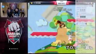 Smash Summit 3: Commentators give top players DBZ Characters