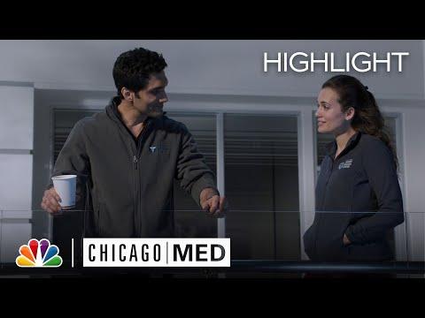 Crockett's Emotional Confession to Manning - Chicago Med