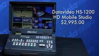 New 2016 Products: HS-1200 Mobile Studio