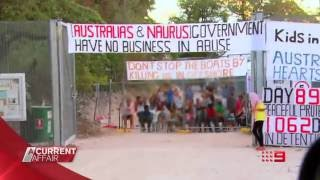 The first time that a television crew has been granted access to the controversial facility on Nauru.