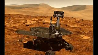 A HUMAN PRESENCE SEEN BY A NASA SENIOR SCIENTIST IN AN ALLEGED MARS ROVER FEED - CLEANING THE SOLAR PANELS.  ARE WE ON MARS OR ON EARTH, AT THE GREENLAND MARS PROJECT? WAS THE FOOTAGE FAKED OR IS IT REAL, YOU DECIDE.