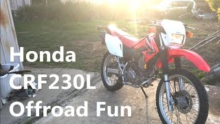 10. Honda CRF230L - First Offroad Adventure - Still Alive
