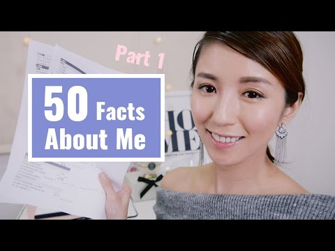 50 Facts About Me-Part I