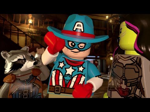 LEGO Marvel Super Heroes 2 - 100% Guide #6 - High-Noon Saloon (All Minikits)