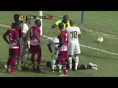 GHANA 1-0 KENYA - AFCON 2019 QUALIFIER Highlights