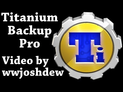 Video of Titanium Backup PRO Key ★ root
