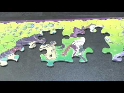Puzzle 1000 pièces - série posters vintage chocolat Suchard, marque d-toys