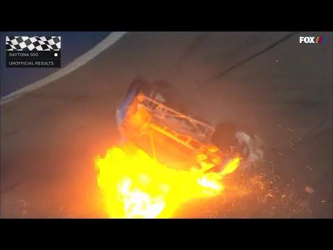 Video - Τρομακτικό ατύχημα στο Daytona 500 (video)