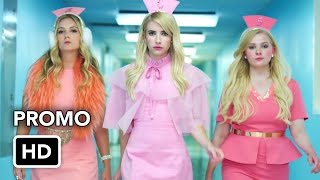 "Scream Queens Season 2 ""We're Back, Idiot Hookers"" Promo (HD) - YouTube"
