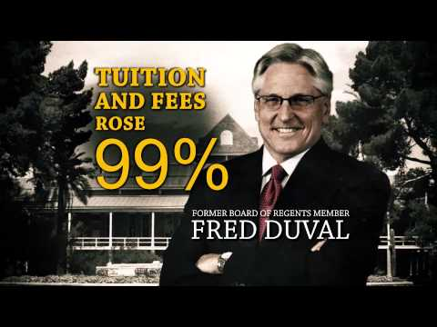 Video: Lobbyist Fred DuVal voted to double college tuition
