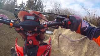 10. 2018 Beta XTrainer First Ride! School Creek ORV, Milford Lake, KS