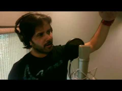 Javed Ali (Diya Aur Baati Hum Song Recording) - Making