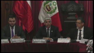 Congresistas de Perú y Chile hablan sobre integración energética en Lima_