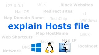 Today I am showing to you what is hosts file? how to edit hosts file in Windows, Linux & mac OS? what use of hosts file in any OS. How to block unwanted conn...