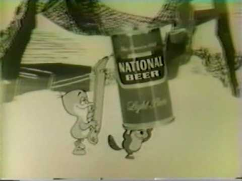 National Beer TV ad 1960s