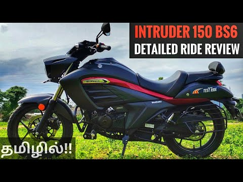 Intruder 150 BS6 Detailed Ride Review தமிழில் - Best 150CC Cruiser💥 | Rev Force தமிழ்