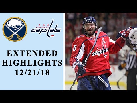Video: Buffalo Sabres vs. Washington Capitals | EXTENDED HIGHLIGHTS | 12/21/18 | NHL on NBC