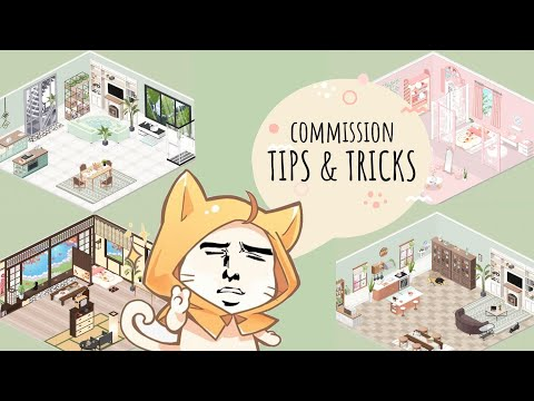 Love Nikki - [TIPS & TRICKS] HOW TO MAKE YOUR COMMISSION LOOK GOOD