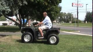 10. 2005 Honda Rancher Foreman 500 Rubicon 4x4 ATV