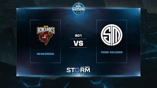 TSM vs Renegades, game 1