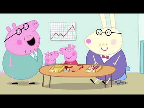 Peppa Pig - Daddy Pig's Office (22 episode / 2 season) [HD]