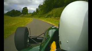 Simon demonstrates Gurston Down Hillclimb in his Late fathers Gould and gets FTD, Awesome!