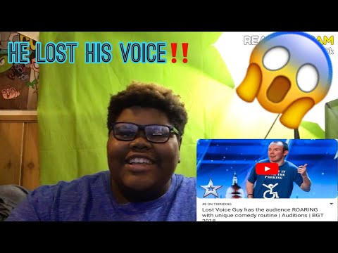 Lost Voice Guy has the audience ROARING with unique comedy routine | Audit… – REACTION.CAM