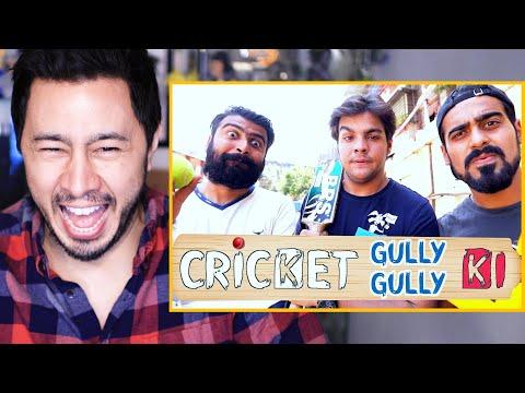 ASHISH CHANCHLANI | Cricket Gully Gully Ki | Reaction by Jaby Koay!