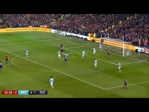 Manchester City vs Tottenham 4-1 | Premier League 2017/18
