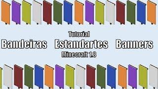 Video Minecraft 1.8 Tutorial: Bandeiras Estandartes Banners MP3, 3GP, MP4, WEBM, AVI, FLV Mei 2019