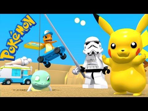 LEGO STAR WARS - STORMTROOPER AND POKEMON