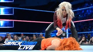 Video Alexa Bliss adds a little color to Becky Lynch's return: SmackDown LIVE, Oct. 25, 2016 MP3, 3GP, MP4, WEBM, AVI, FLV Juli 2018