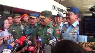 Video Panglima TNI mengantar Calon Panglima TNI Baru Tahun 2017 MP3, 3GP, MP4, WEBM, AVI, FLV Maret 2018