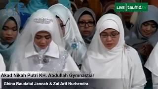 Video Khidmatnya Pernikahan Putri Ke-Tiga Aa Gym MP3, 3GP, MP4, WEBM, AVI, FLV Desember 2017