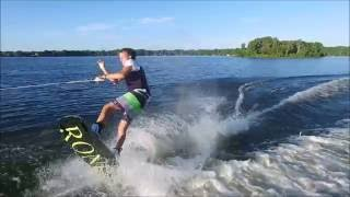 5. Wake Boarding Behind Sea Doo Wake Pro 215