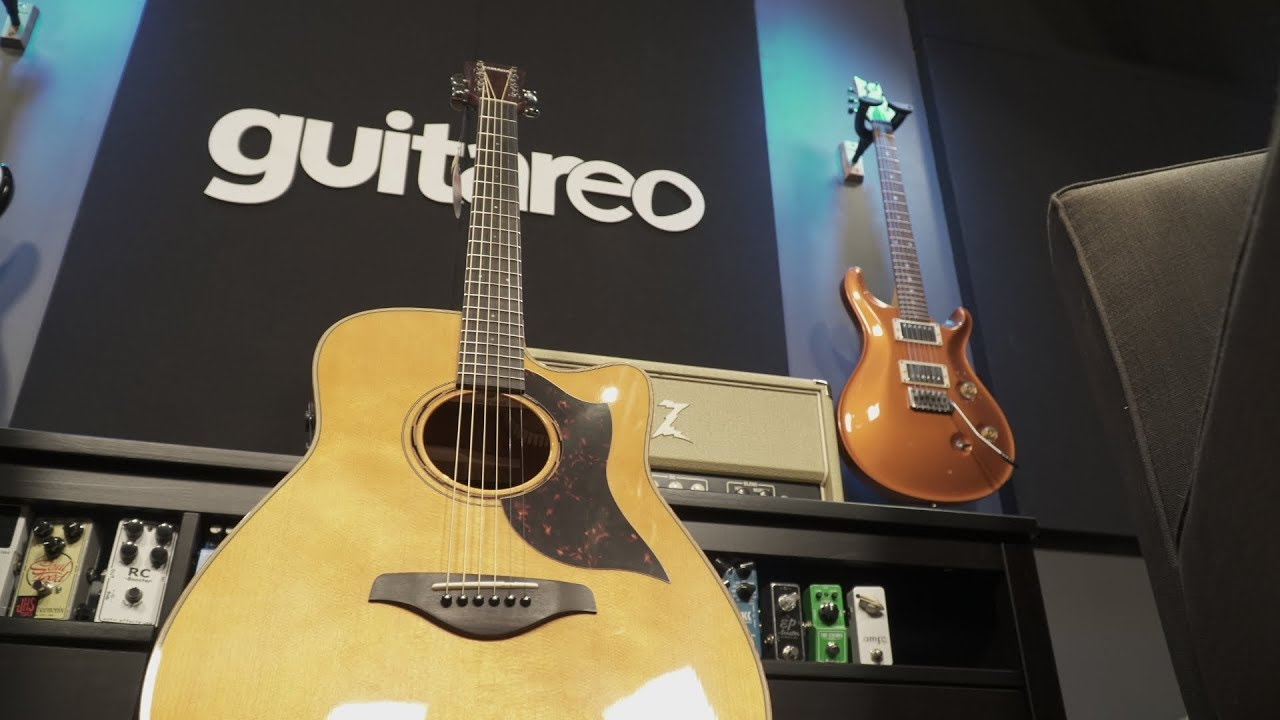 Guitareo Gear Giveaway – Yamaha A3M Acoustic Guitar