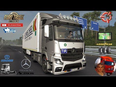 Mercedes-Benz Actros MP4 fix v1.0 1.35