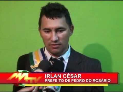 MATV25ANOS-IRLAN SERRA ASSUME A PREFEITURA DE PEDRO DO ROSÁRIO