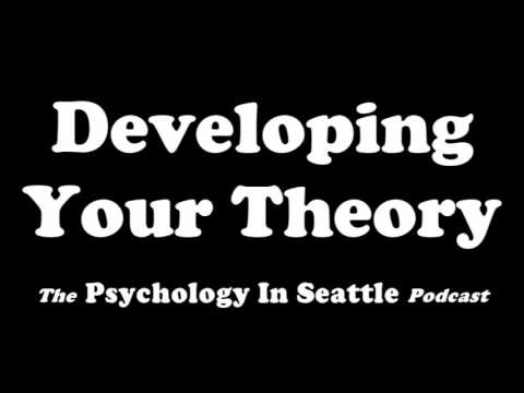 Developing Your Theory