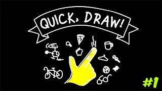 YENİ LEONARDO DA VİNCİ!!  Quick, Draw! #1