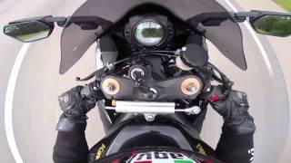 10. Kawasaki ninja zx10r 2010 wheelie topspeed