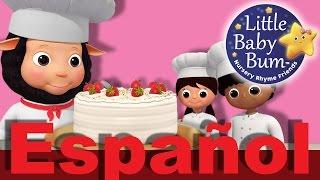 ¿Te gusta cocinar tartas? Aprende a hacerlas con Bee Bee, Polly y Carl. ¡Qué ricas!Descarga los vídeos de LBB http://www.littlebabybum.com/es/tienda/videosPeluches: http://littlebabybum.com/shop/plush-toys/© El Bebe Productions Limited