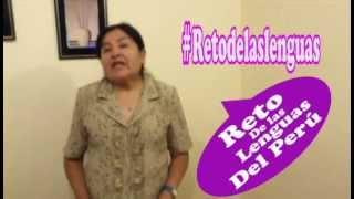 """Ruth Arce aceptó en reto y reta a Hernesto Toledo de la """"Direccion Desconcentrada de Arequipa""""."""