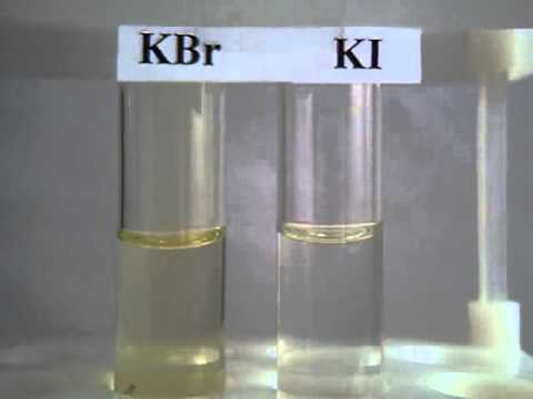 Взаимодействие хлорида меди (ii) с иодидом калия