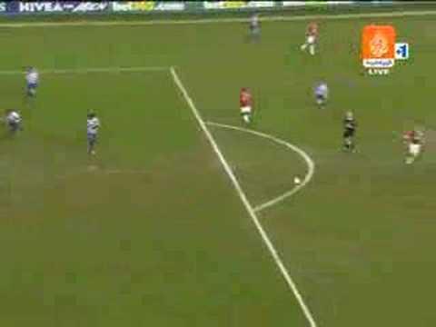 Golazo de Heinze en el Manchester United