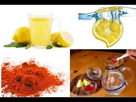 How To Lose weight fast with lemon and cayenne pepper